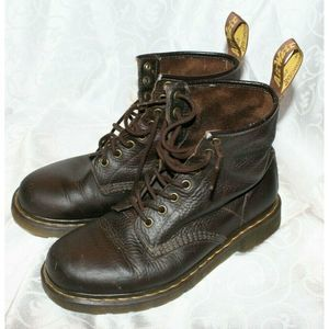 Doc Dr Marten  Leather Ankle Boots Mens 8